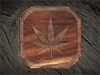 Pot Leaf Coaster
